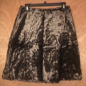Orla Kiely Brown Cat skirt